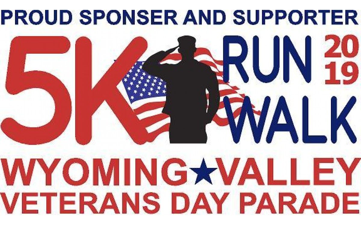 Wyoming Valley Veterans Day 5k Run / Walk