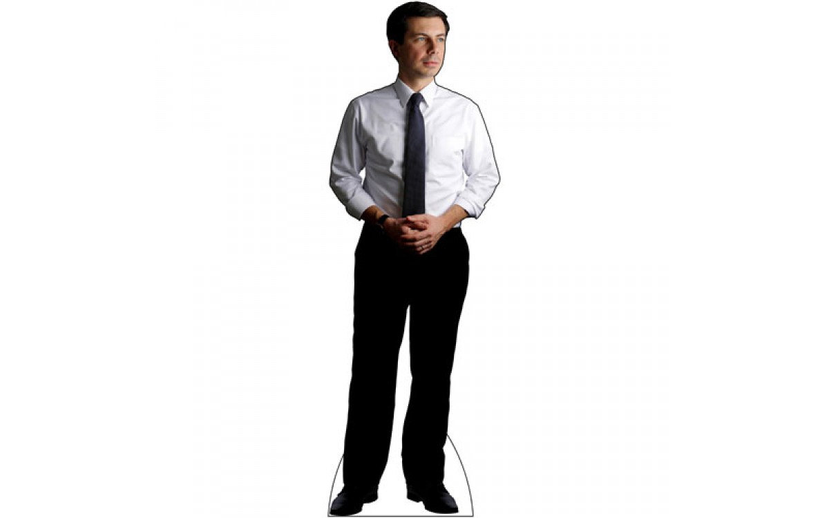 Get your Mayor Pete Buttigieg Life Size Cardboard Cutout