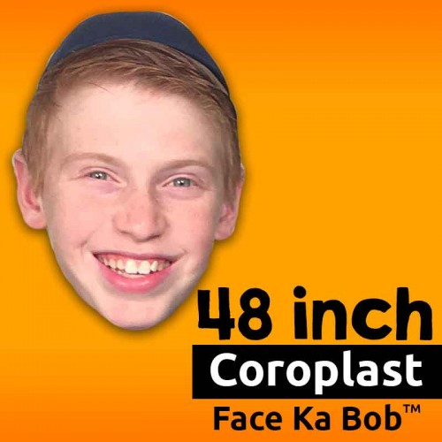"48"" Custom Coroplast Face-Ka-Bob"