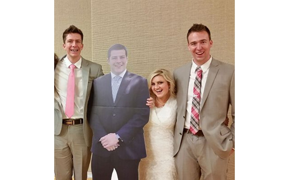 Custom Cardboard Cutouts are our business and business is good!
