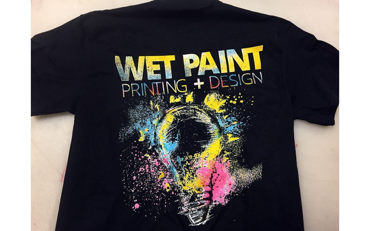 multi color screen printing