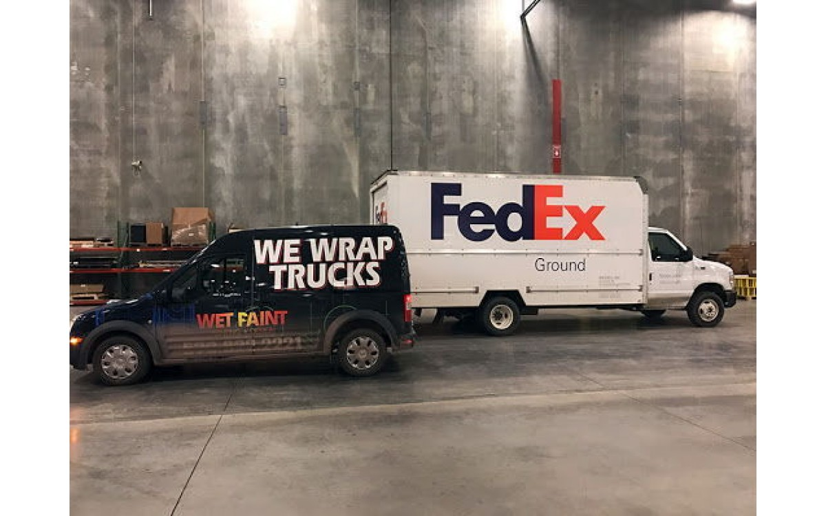 FedEx Truck gets new graphics