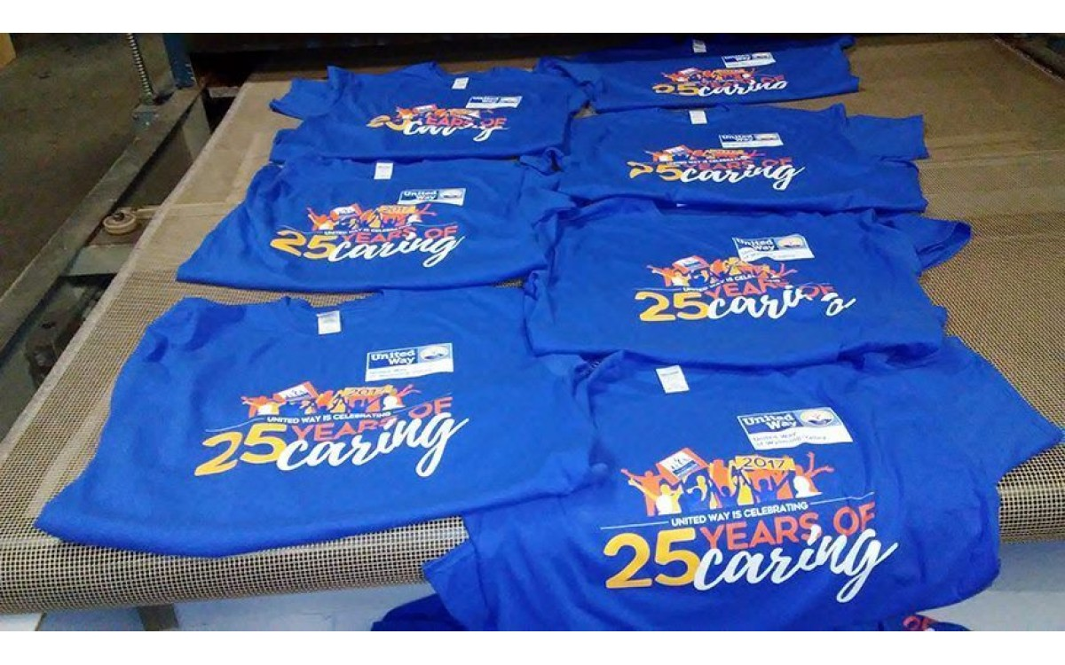 Screen printing T Shirts