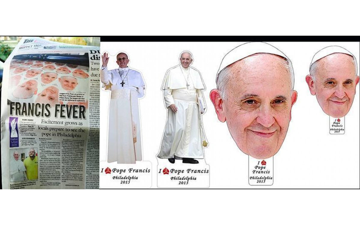 Pope 2015 @ wetpaintprinting.com