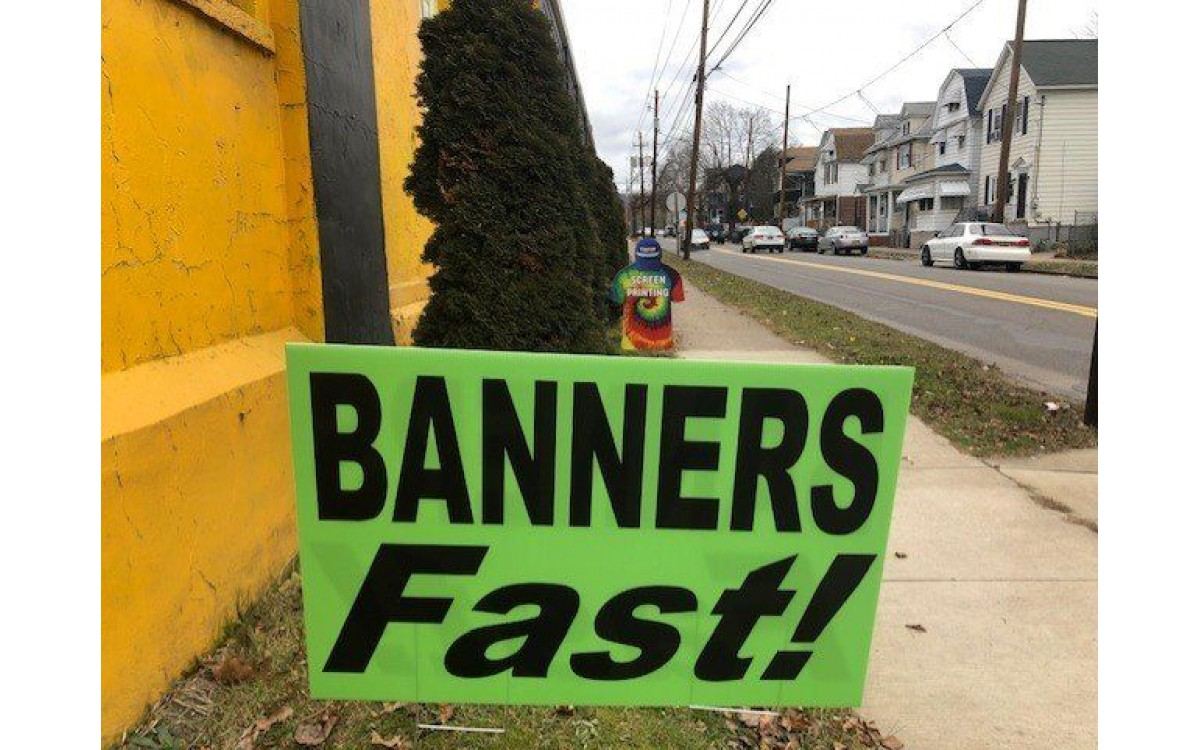 Printed Banners FAST