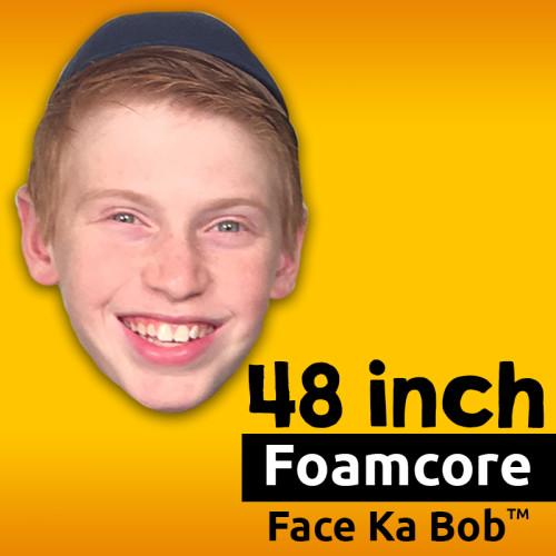 """48"""" Custom Foamcore Face-Ka-Bob"""