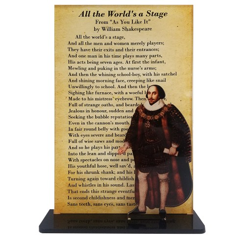 William Shakespeare -- All The Worlds A Stage