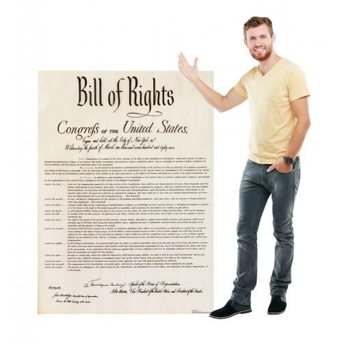 Bill of Rights Cardboard Cutout