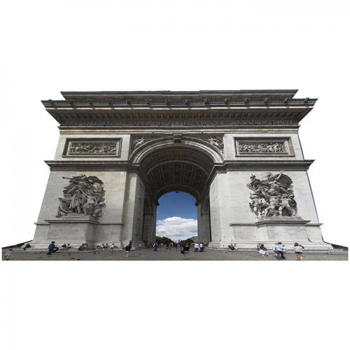 Arch De Triumph Cardboard Cutout