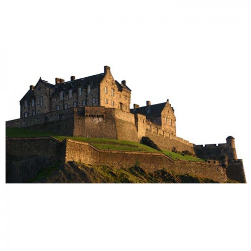 Edinburgh Castle Haunted Cardboard Cutout
