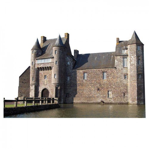 Chateau de Trecesson Haunted Castle Cardboard Cutout