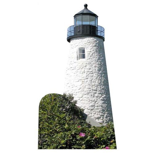 Dice Head Lighthouse Cardboard Cutout