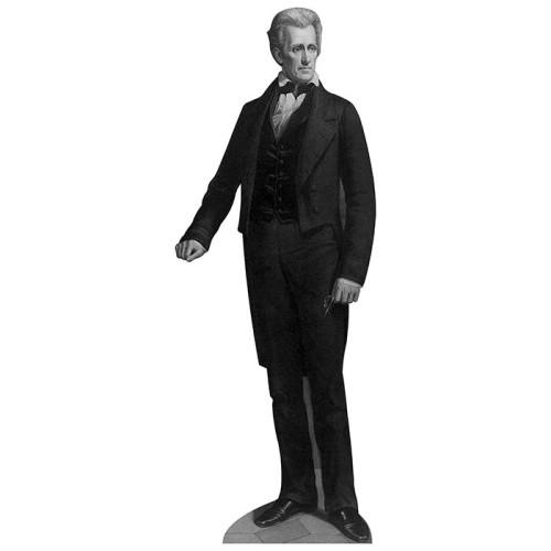 Andrew Jackson Cardboard Cutout