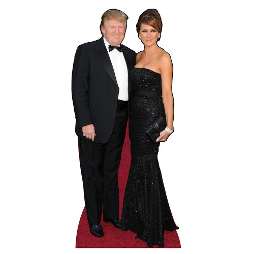 Trump Formal Cardboard Cutout