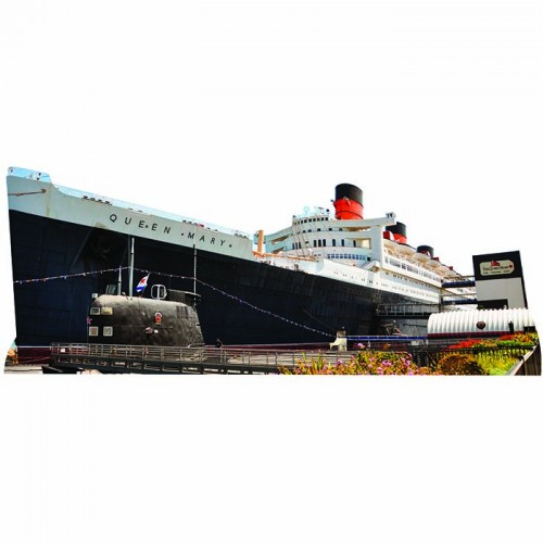 RMS Queen Mary Cardboard Cutout