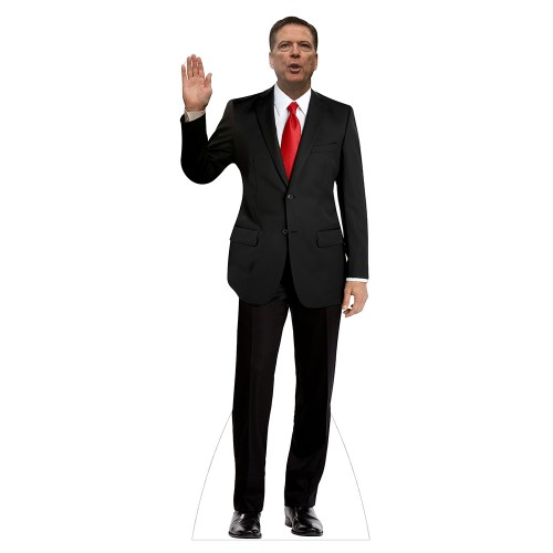 James Comey Cardboard Cutout
