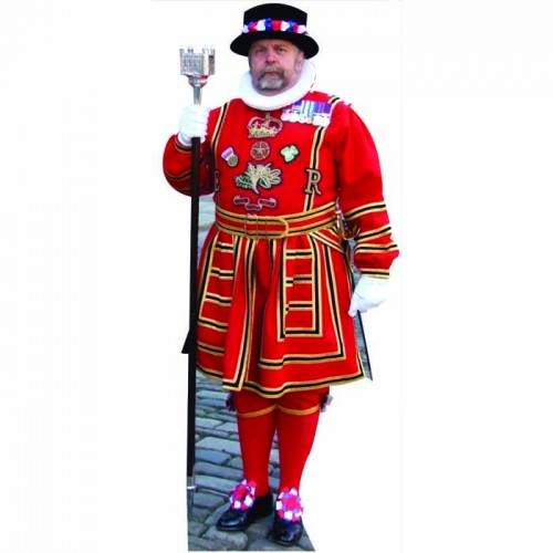 Beefeater Red Cardboard Cutout