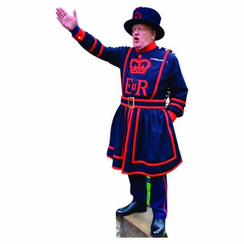 Beefeater Black Cardboard Cutout
