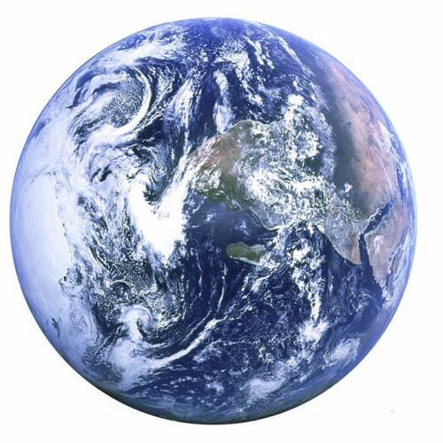Earth Cardboard Cutout