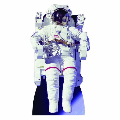 Astronaut Sitting Cardboard Cutout