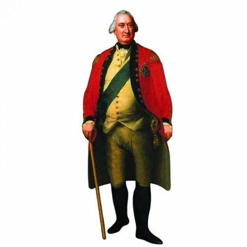 Charles Cornwallis Cardboard Cutout