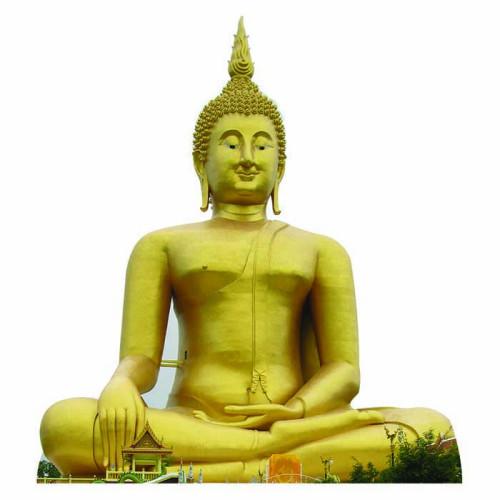 Great Buddha of Thailand Cardboard Cutout