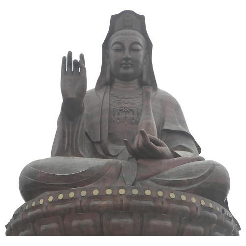 Guanyin of Mount Xiqiao Cardboard Cutout